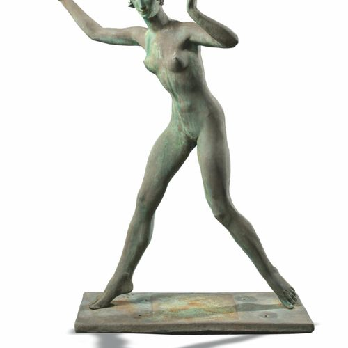 Modern and Garden Sculpture: After Charles Wheeler A resin figure of Spring 177c…
