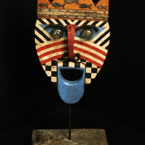 Sealed Bid Auction Modern/Tribal Sculpture: : Martin Scorey Neptune Wood, metal …