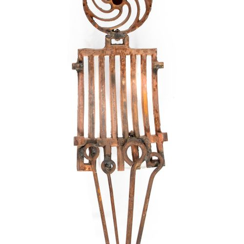Modern and Garden Sculpture: Gerald Moore Grate Expectations Recycled metal incl…