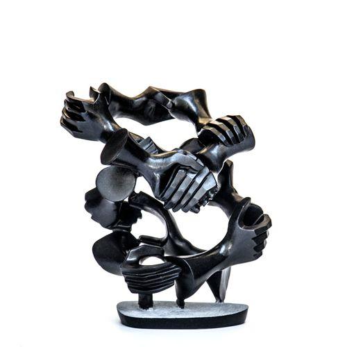 Sealed Bid Auction Modern and Garden Sculpture: Innocent Nyashenga Stronger Toge…