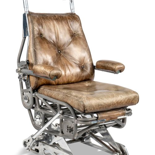 Sealed Bid Auction Toys for Boys: An aluminium framed pilot's seat possibly from…