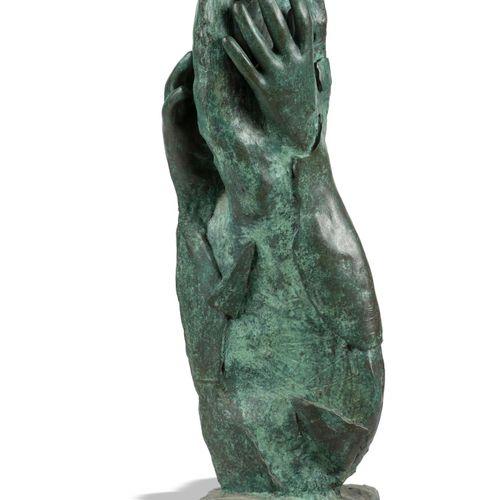Modern and Garden Sculpture: Gerald Moore Torso with hands Bronze, with Morris S…