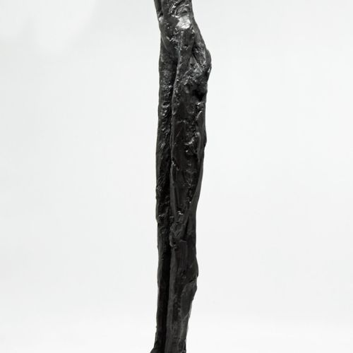 Sealed Bid Auction Modern and Garden Sculpture: Carol Peace Tall Lady Bronze Res…
