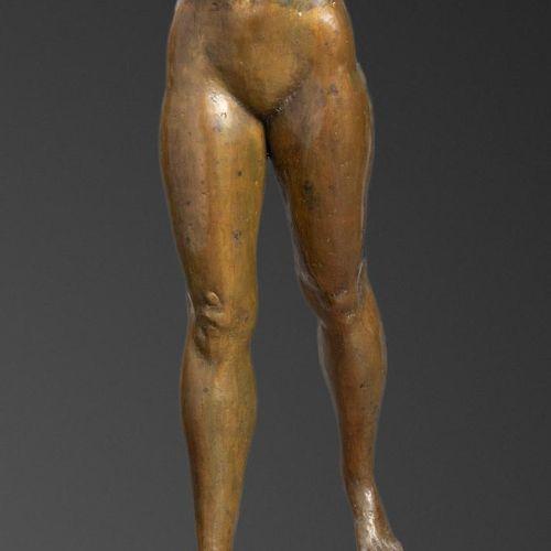 Sealed Bid Auction Sculptrue: A similar bronze figure of a naked girl 3rd quarte…