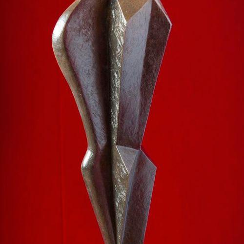 Sealed Bid Auction Modern Sculpture: Maria Bayardo IL Bacio Bronze Signed editio…