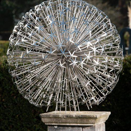 Sealed Bid Auction Modern and Garden Sculpture: Ruth Moilliet Allium 1m diameter…
