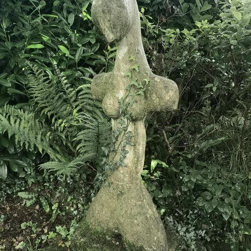 Modern and Garden Sculpture: Gerald Moore Aphrodite Ciment fondu 120cm high This…