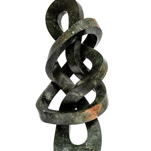 Sealed Bid Auction Modern and Garden Sculpture: Victor Matafi Self Introspect Op…