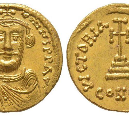 Byzantins Constantius II 641 668 Solidus, Constantinople, 649 650, AU 4.46 g. Av…