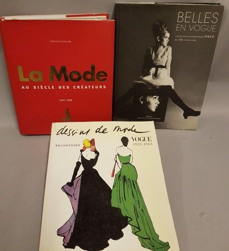 """MODE MODE  3 vol   """" Belles en Vogue, collection photographiques de 1925 à nos j…"""