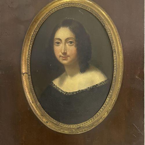 ECOLE FRANCAISE du XIXe siècle ECOLE FRANCAISE du XIXe siècle  PORTRAIT DE FEMME…