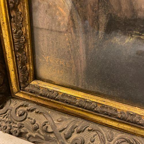 A. VEYRE A. VEYRE  PORTRAIT DE JEUNE GARCON, 1919  Pastel sur papier signé et da…