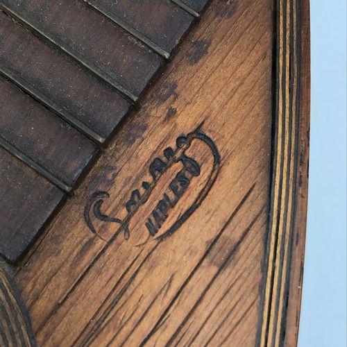 LUTH en bois portant une signature Lorenzo Naples LUTH en bois portant une signa…