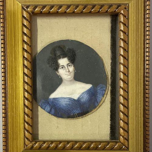 ECOLE FRANCAISE du XIXe siècle ECOLE FRANCAISE du XIXe siècle  PORTRAITS DE FEMM…