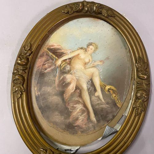 Lot comprenant : Lot comprenant :   Dans le goût du XVIIIème siècle.  Vénus  Pas…