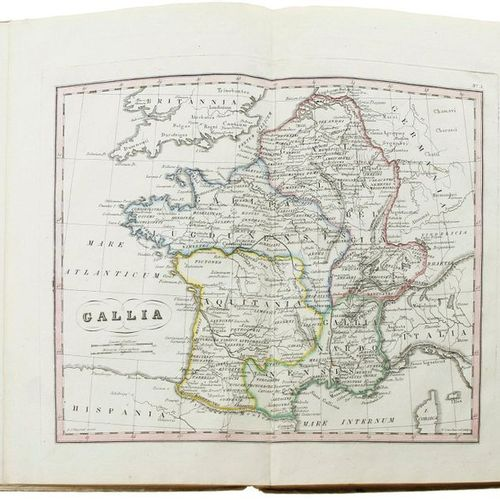 Atlas of the Old World in sixteen coloured maps; followed to d'Anville and other…