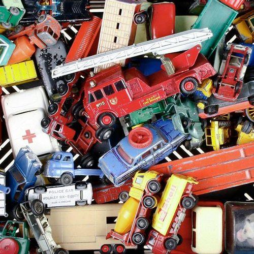 Auto's Collection model cars, Corgy, Marjorette, Matchbox, etc. Diverse qualitie…