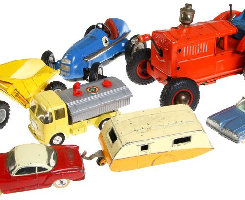 Auto's Lot of various model cars, including Schuco studio 1050, Dinky Toys Karma…