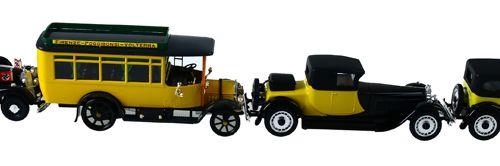 Auto's Lot of 19 various RIO miniature car models, including Mercedes Benz parad…