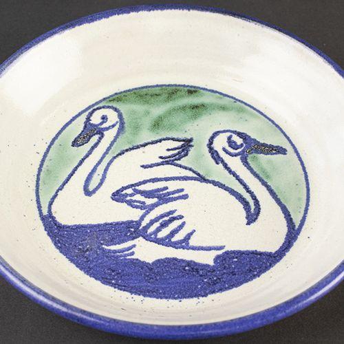 Porcelaine, faïence, etc. Maria Hobbel van Harten (1881 1959), assiette murale e…