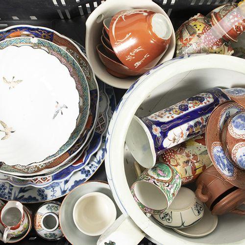 Art et objets asiatiques Porcelaine et céramique chinoises et japonaises, assiet…