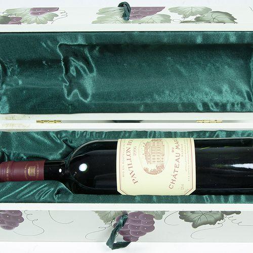 Vins, whisky, etc. Pavillon Rouge du Chateau Margaux 1996 en boîte cadeau 750 ml…