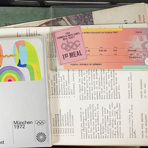 Olympics and sports memorabilia Olympic Games memorabilia, including a 1936 Berl…