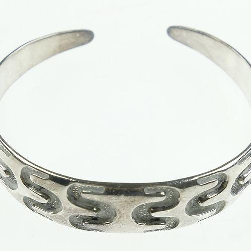 Silver jewellery Stiff silver bracelet, Copy Viking Period, David Anderson, Norw…