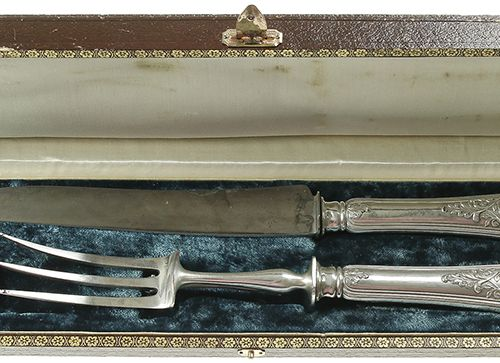 Silver objects France (First standard of finesse in France before 1973 950/1000,…