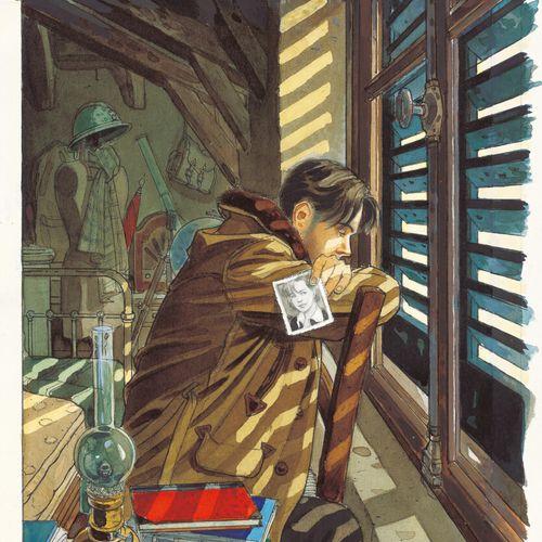 GIBRAT JEAN PIERRE GIBRAT  LE SURSIS  Tome 1, Dupuis 1997  Couverture originale.…