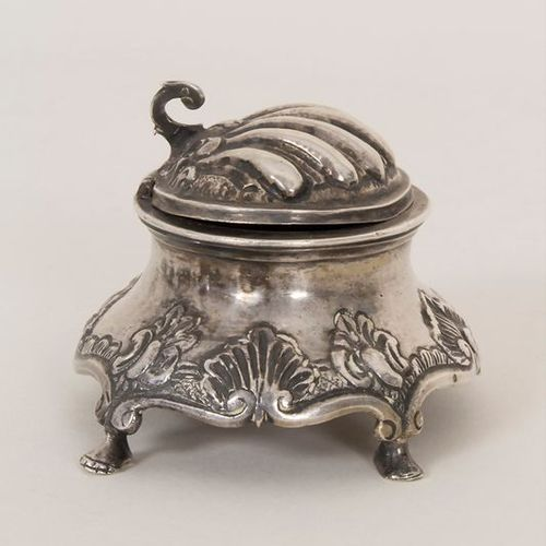 Barock Saliere / A silver Baroque open salt, Francisco Sánchez Taramás, Córdoba,…