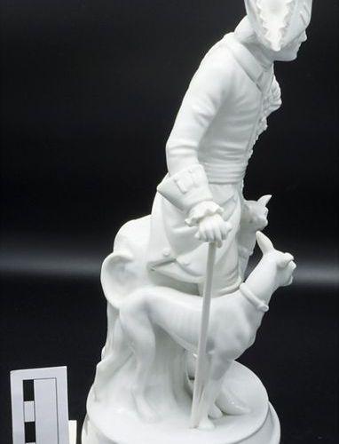 Porzellanfigur 'Der Alte Fritz' / A porcelain figure 'The old Fritz', Sitzendorf…