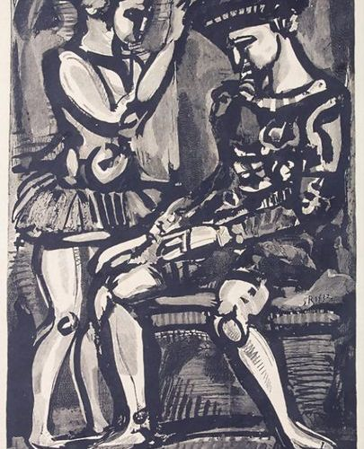 Georges ROUAULT (1871 1958), Boniment, 1932 Technique: Lithography on paper ,Dat…