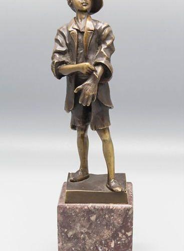 Ernst Beck (1879 1941), Bronze Skulptur / A bronze sculpture, um 1900 Material: …