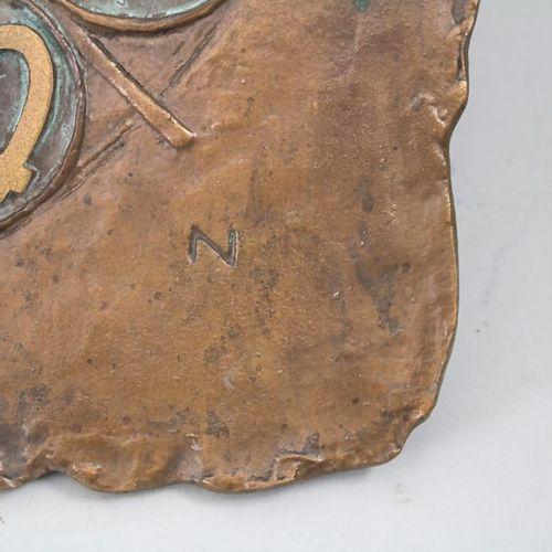 Wanduhr mit Tierkreiszeichen (Hora XIII) / A wall clock with zodiac signs, Gusta…