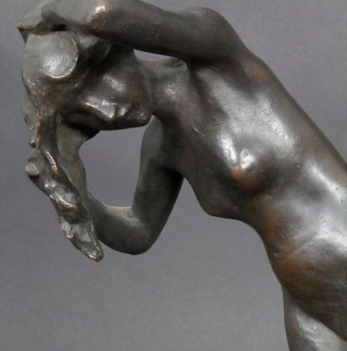Frédéric Brou (Mauritus 1862 1926 Paris), 'Weiblicher Akt' / 'A female nude', um…