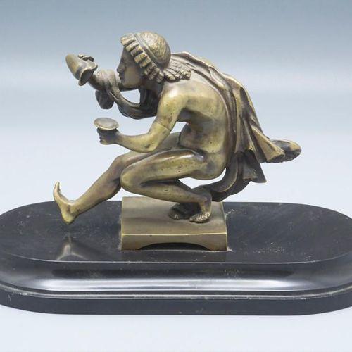 Dionysos Bronzeskulptur / A bronze sculpture of Dionysos, um 1900 Material: bron…