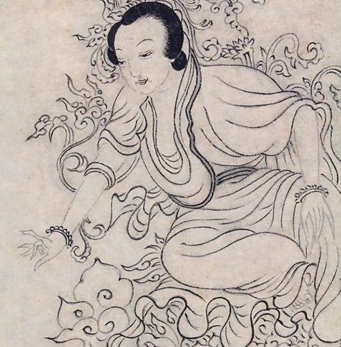 Zwei mythologische Figurenstaffagen / Two mythological figural depictions, China…