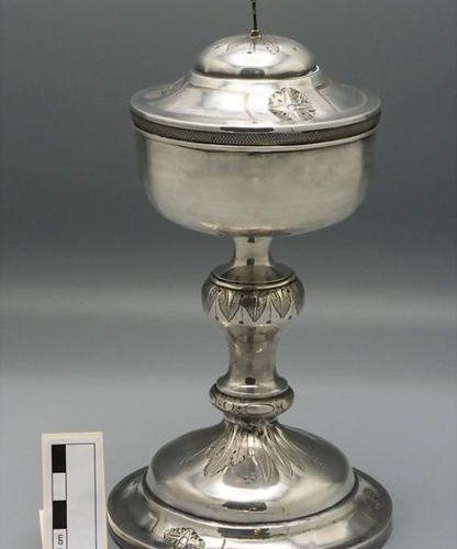 Ziborium / Ciboire en argent massif / A silver ciborium, Joseph Convert, Lyon, 1…