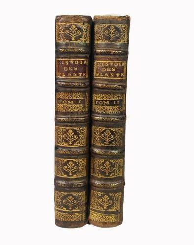 Botany. DE VILLE. Histoire des Plantes de l'Europe 2 voll. In small 8°, mm. 160x…