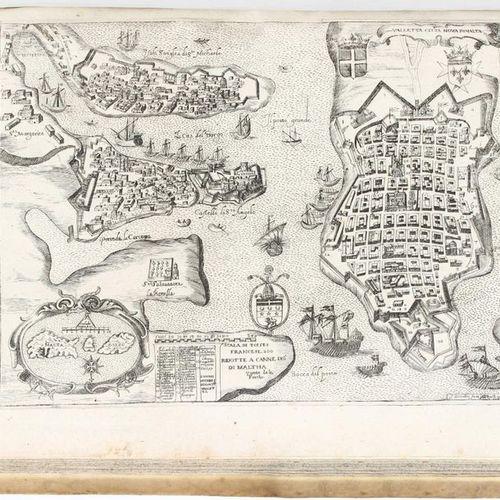Malta. BOSIO. Histoire des cheualiers de l'ordre de S. Iean de Hierusalem. 3 par…