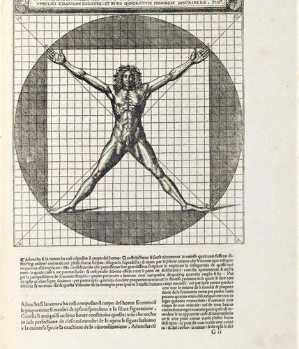 VITRUVIUS. De architectura libri dece traducti de latina lingua in vulgare. Foli…
