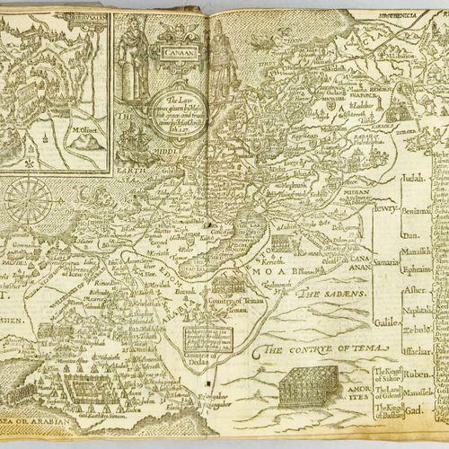 Embroidered Binding. English Bible. 1628. English Bible. London, By Bonham Norto…