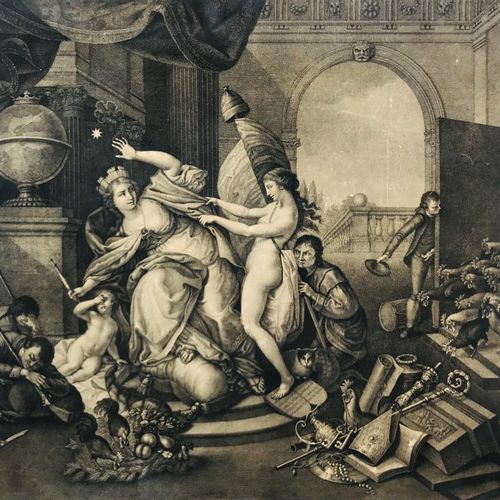 ROSASPINA. Allegory of Italy invaded by the French. Francesco ROSASPINA1762–1841…