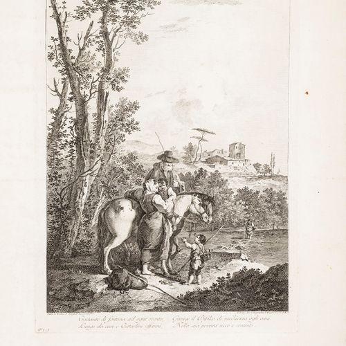 Engravings of landscapes of the XVIII century. ZUCCARELLI– ZAIS. Raccolta di 24 …