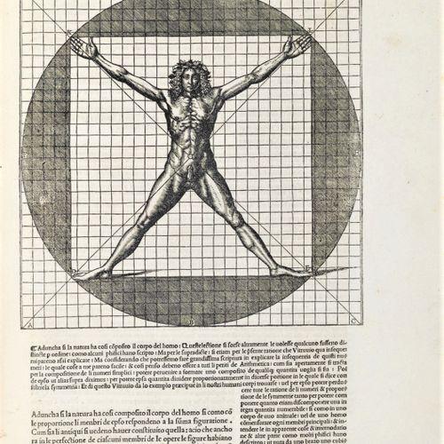 VITRUVIUS. De architectura libri dece traducti de latina lingua in vulgare. VITR…