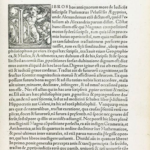 Astrology. CARDANO. Hieronymi Cardani, In Cl. Ptolemaei De astrorum... CARDANO, …