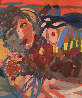 Sandra Detourbet (née en 1967) The Flower of the Stream, 2020  Gouache mounted o…