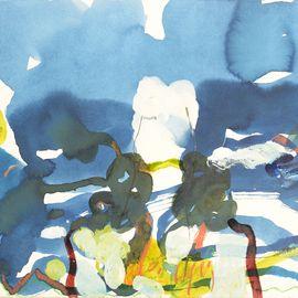 Sandra Detourbet (née en 1967) Barry Lindon,2016,  Ink on paper  40 x 60 cm  Sid…