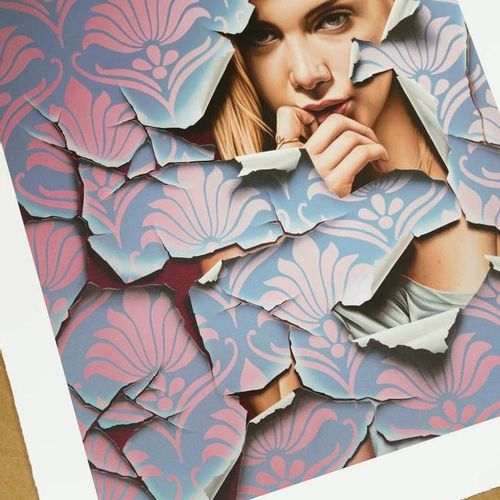 Jame Bullough Linger  23 colour Screen Print On 300 gsm Somerset paper  Signed b…